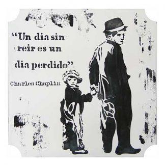 Decoración de Charles Chaplin
