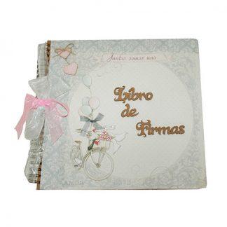 Libro de firmas para bodas originales