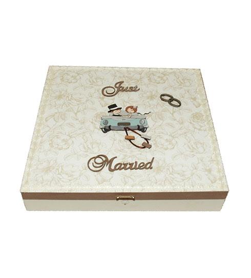 Caja de madera para decorar tu boda
