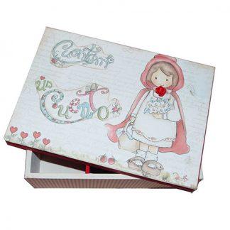 Caja de Caperucita Roja