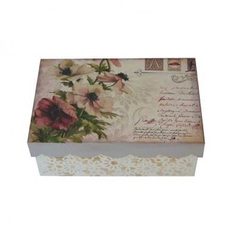 Caja de flores