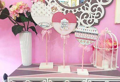 Corazón para decorar en la comunión