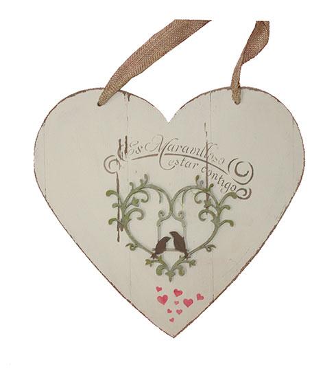 Corazón para colgar para tu pareja