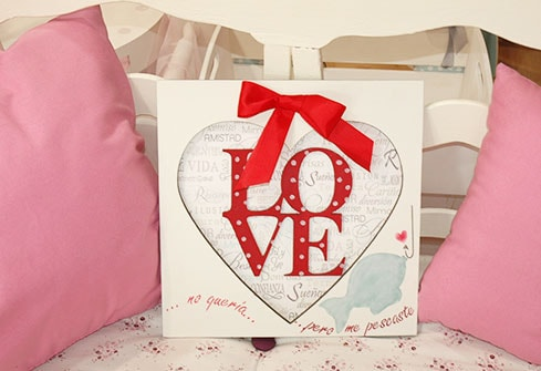 Cuadro Love