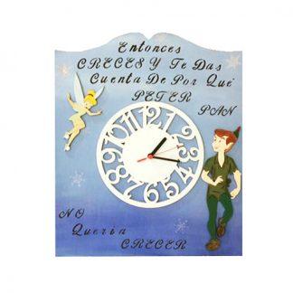 Reloj de Peter Pan