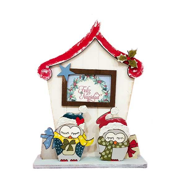 Decoraci n de navidad b hos original y hecha a mano ana y arte - Decoracion de navidad original ...