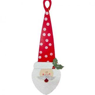 Cara de Papá Noel para decorar