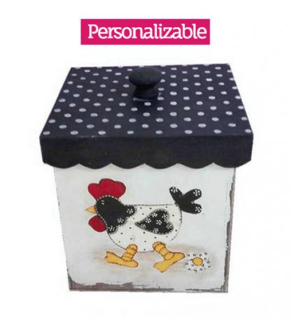Caja decorativa para la cocina