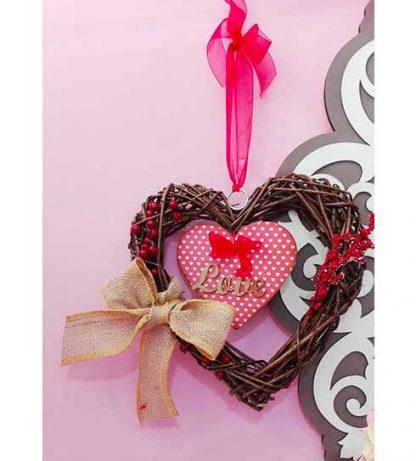 Corazón doble de amor