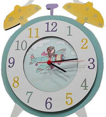 Reloj de madera infantil