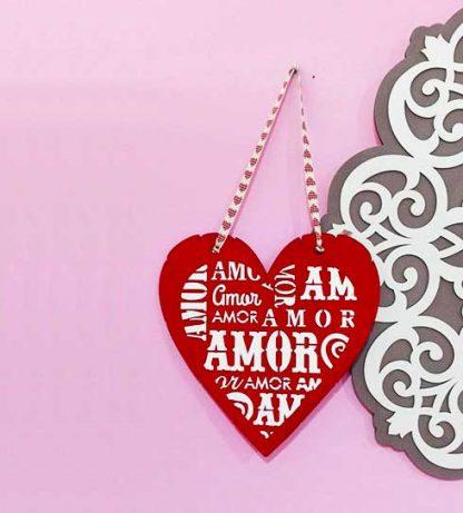 Corazón con mucho amor