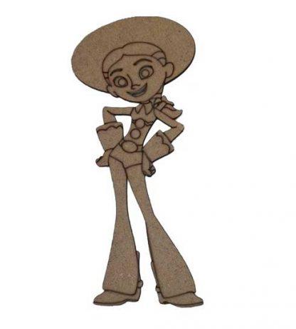 """Silueta Jessie """"Toy Story"""""""