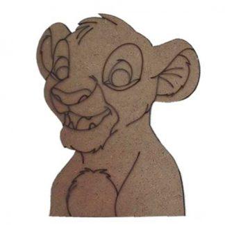 "Silueta Simba ""El Rey León"""