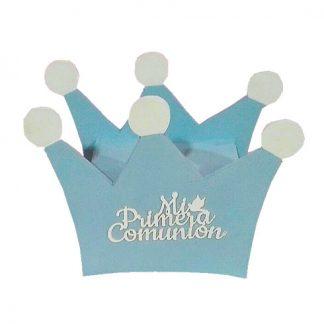 """Hucha en forma de corona """"Mi primera comunión"""""""