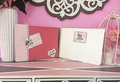 Libro de firmas para la comunión de niña