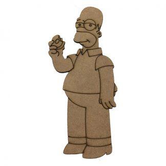 Silueta Homer Los Simpsons