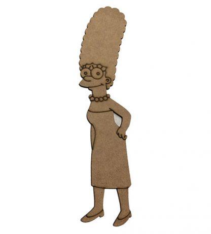 Silueta Marge Los Simpsons