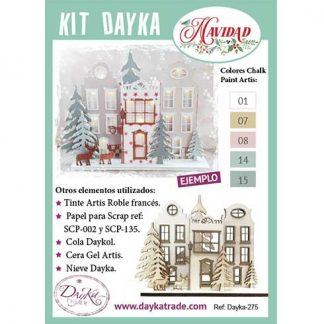 Kit DIY Dayka Poblado navideño