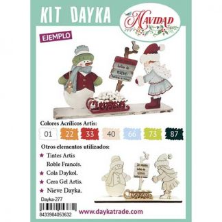 Kit DIY Dayka Trineo niña snow