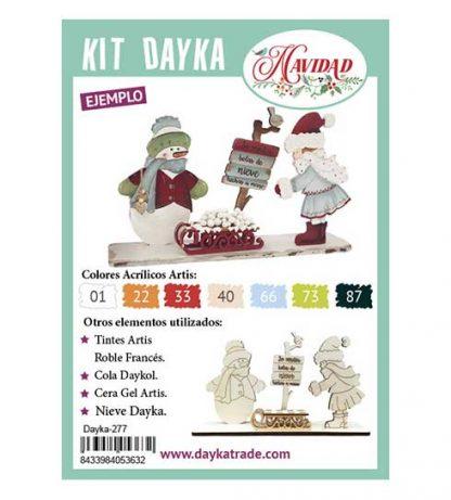 Kit DIY Dayka Trineo niña snow