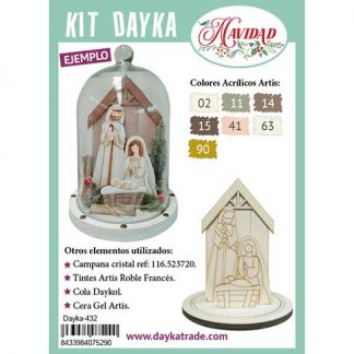 Kit DIY Dayka Peana con belén