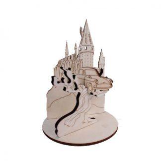 Coche volador Hogwarts