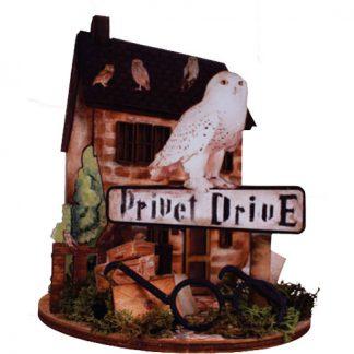 Silueta Hedwig Privet Drive