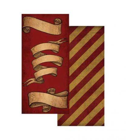 Papel banderines Hogwarts