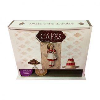 Caja para las cápsulas de café Dolce Gusto