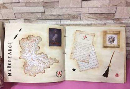 Álbum de madera de Harry Potter