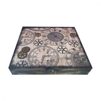 Caja de madera relojes